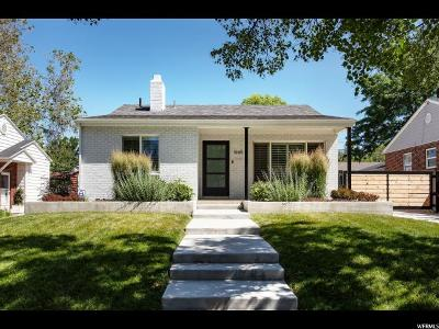 Salt Lake City UT Single Family Home For Sale: $585,000