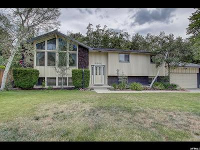 Cottonwood Heights Single Family Home Under Contract: 3360 E Winesap Rd