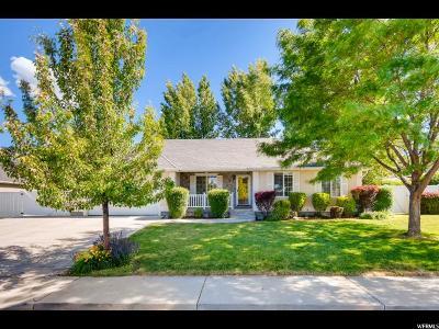 Payson Single Family Home Under Contract: 1176 E 420 S