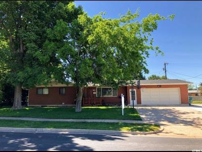 Clearfield Single Family Home Under Contract: 1170 E 1050 S