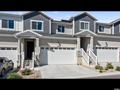 Herriman Townhouse For Sale: 14556 S Quiet Shade Dr