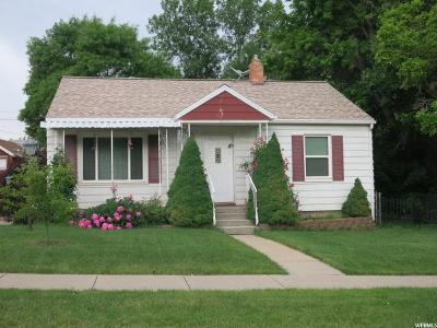 South Ogden Single Family Home Under Contract: 3901 S Evelyn Rd