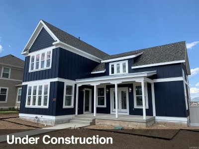 South Jordan Single Family Home Under Contract: 10837 S Porcini Dr W #14-943