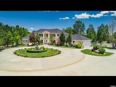 Eagle Mountain Single Family Home Under Contract: 2692 E Cedar Dr N #66
