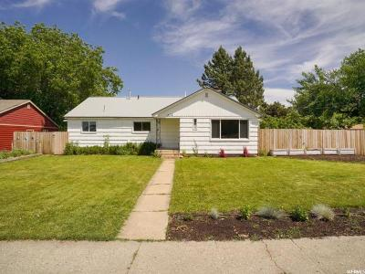 Kaysville Single Family Home Under Contract: 412 W 100 S