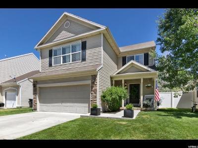 Springville Single Family Home Under Contract: 1344 W Glenbarr Dr