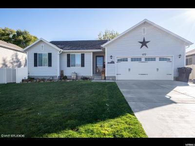 Grantsville Single Family Home Under Contract: 177 S East Ranch Rd E