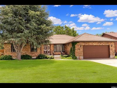 Fruit Heights Single Family Home For Sale: 1144 E Country Rd