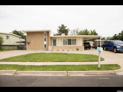 Layton Single Family Home Under Contract: 1858 W Cliff Pl