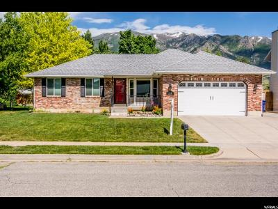 Layton Single Family Home Under Contract: 2174 N 1965 E