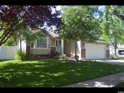 Layton Single Family Home Under Contract: 1494 W Stonebridge Dr. S