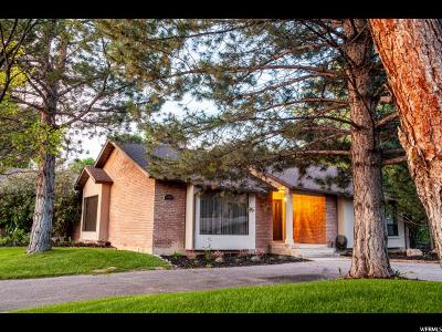 Logan Single Family Home Under Contract: 1609 E 1220 N