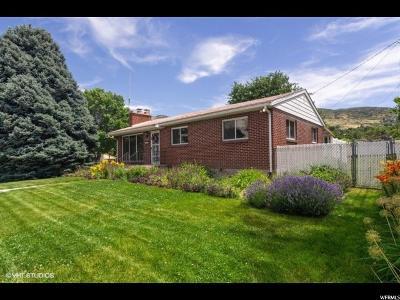 Bountiful Single Family Home Backup: 1034 N 400 E