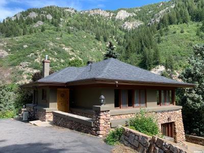 Ogden Single Family Home For Sale: 244 E Ogden Canyon