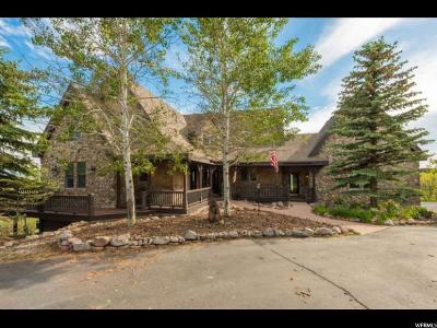 Park City Single Family Home For Sale: 1352 Tollgate Rd