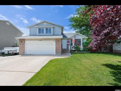 Layton Single Family Home Under Contract: 195 W 1425 N
