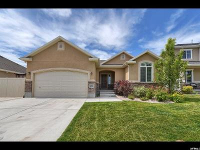 Layton Single Family Home Under Contract: 2452 W Harmony Dr