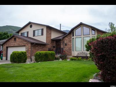 Layton Single Family Home Under Contract: 2582 E 2700 N