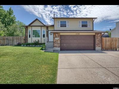 Layton Single Family Home For Sale: 2288 N 1975 E