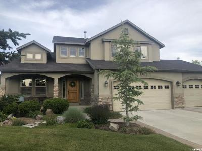 Herriman Single Family Home Under Contract: 5297 W Wind Bloom Cir S