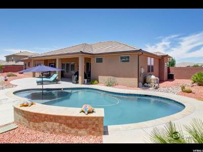St. George Single Family Home Under Contract: 2870 E Amaranth Dr