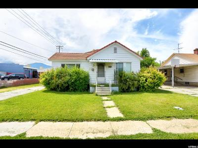 Single Family Home For Sale: 53 W 400 N