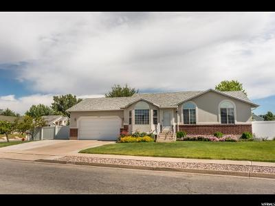 Layton Single Family Home Under Contract: 916 W 2350 N