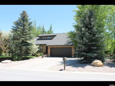 Park City Single Family Home For Sale: 4928 N Silver Springs W
