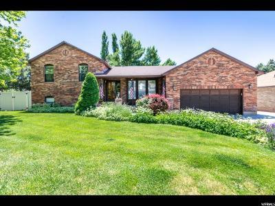 Layton Single Family Home For Sale: 1848 E 2050 N