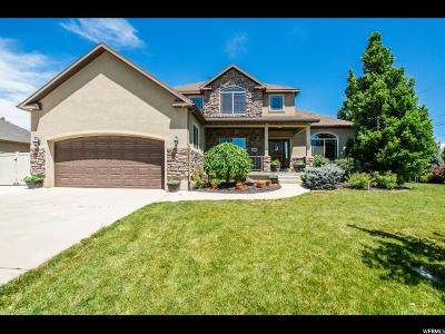 Lehi Single Family Home Under Contract: 2316 W 1350 N
