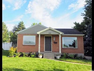 Bountiful Single Family Home Under Contract: 368 E 1500 S