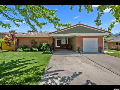 Salt Lake City Single Family Home For Sale: 1511 E Ken Rey St
