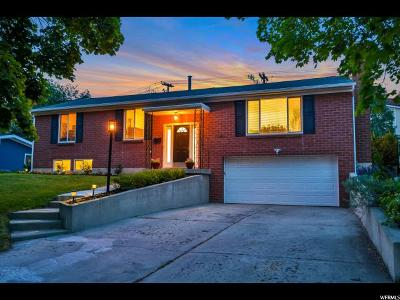 Holladay Single Family Home Under Contract: 4105 S 3340 E