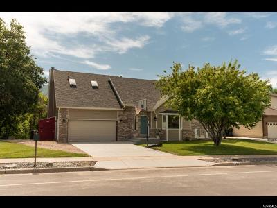 Kaysville Single Family Home For Sale: 1403 S Haight Creek Dr
