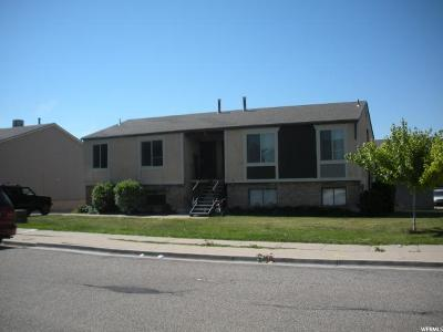 Layton Multi Family Home Under Contract: 1433 W 1650 N