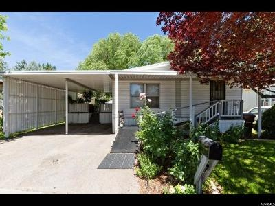 Salt Lake City Single Family Home For Sale: 5031 S El Amador St