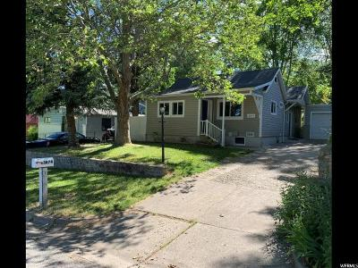 South Ogden Single Family Home For Sale: 3874 S Orchard Ave E