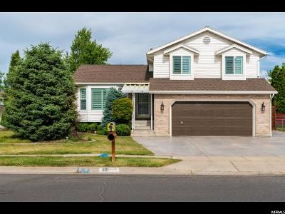 Layton Single Family Home Under Contract: 1110 N 2875 W
