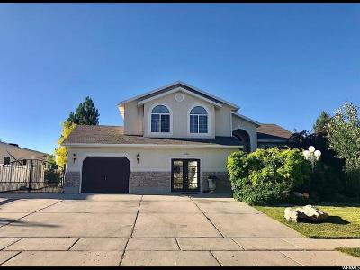 West Jordan Single Family Home For Sale: 5266 W Cygnus Hill Cv S