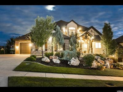 Fruit Heights Single Family Home For Sale: 1542 E Hidden Springs Pkwy S