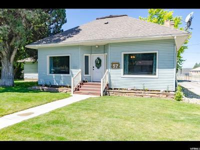 Smithfield Single Family Home Under Contract: 57 N 100 E