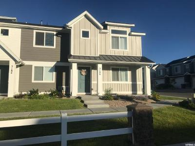 Herriman Townhouse For Sale: 5186 W Aria Ct S
