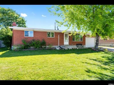 Layton Single Family Home For Sale: 1198 Mala Dr