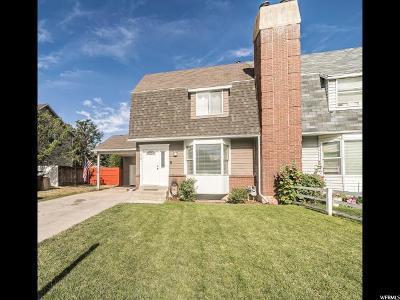 Springville Single Family Home Under Contract: 1270 S 550 E