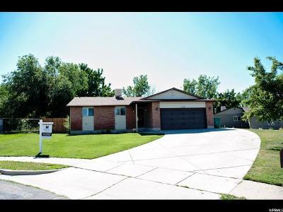 Layton Single Family Home Under Contract: 1314 E Nalder Cir N
