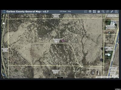 Carbon County, Emery County Commercial Lots & Land For Sale: 3762 E Coalcreek Rd N