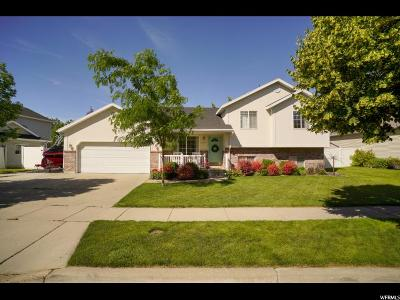 Layton Single Family Home Under Contract: 1407 S Pebblecreek Dr