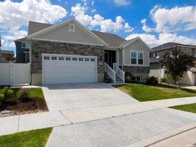 Herriman Single Family Home For Sale: 14482 S River Chase Rd W