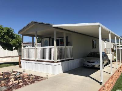 Roy Single Family Home For Sale: 108 3800 S 1900 W #108