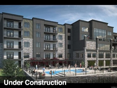 Wasatch County Condo Under Contract: 909 W Peace Tree Trl #518